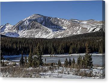 Mt. Audubon Canvas Print by Aaron Spong