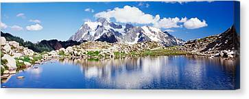 Mt Baker Snoqualmie National Forest Wa Canvas Print by Panoramic Images