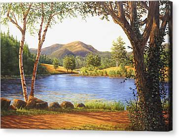 Mt. Bernard In Acadia National Park, Me Canvas Print