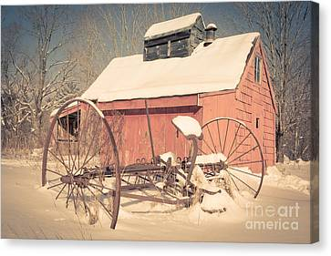 Mt. Cube Farm Old Sugar Shack Canvas Print by Edward Fielding