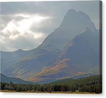 Mt Grinnell - Glacier National Park Canvas Print