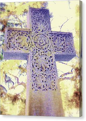 Mt. Hope Cemetery Rochester Ny Canvas Print by Jodie Marie Anne Richardson Traugott          aka jm-ART