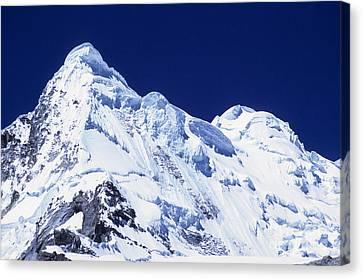 Overhang Canvas Print - Mt Hualcan by James Brunker
