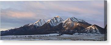 Mt. Princeton Panorama Canvas Print by Aaron Spong