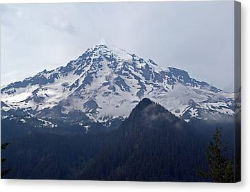 Mt. Rainier  Canvas Print by Tikvah's Hope