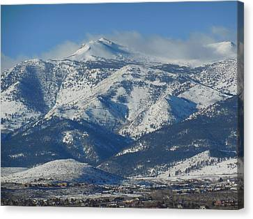 Mt Rose Reno Nevada Canvas Print by Dan Whittemore