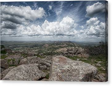 Canvas Print featuring the photograph Mt. Scott by Yvonne Emerson AKA RavenSoul