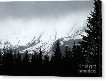 Mt St Helens........a Looming Storm Canvas Print
