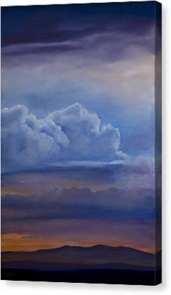 Canvas Print - Mt. Taylor Sunset by Jack Atkins