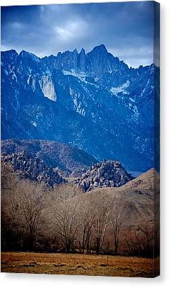 Mt. Whitney And Alabama Hills Canvas Print by Eric Tressler