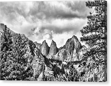 Mt. Whitney Canvas Print by Peggy Hughes