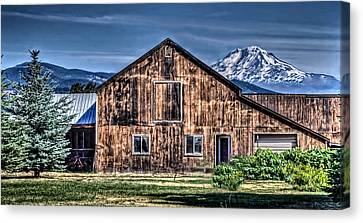 Canvas Print featuring the photograph Mt. Adams by Thom Zehrfeld