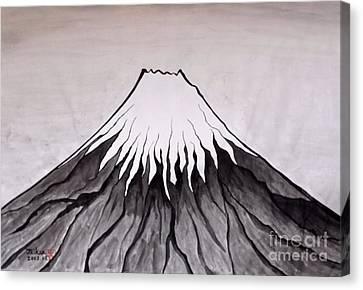 Mt.fuji By Taikan Nishimoto Canvas Print by Taikan Nishimoto