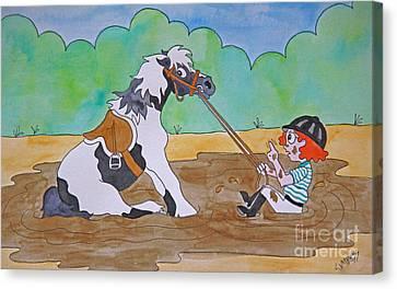 Mud Pony Canvas Print