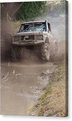 Mudbash - 44 Canvas Print
