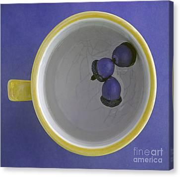 Canvas Print featuring the photograph Mug And Finials 4 by Sebastian Mathews Szewczyk