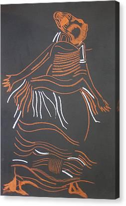 Muganda Lady - Uganda Canvas Print by Gloria Ssali