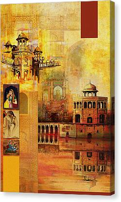 Mughal Art Canvas Print by Catf