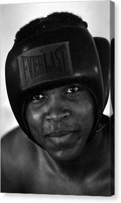 Muhammad Ali Grinning Canvas Print by Retro Images Archive