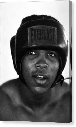 Muhammad Ali Headshot  Canvas Print by Retro Images Archive