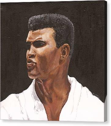 Muhammad Ali Canvas Print by Jeff Gomez