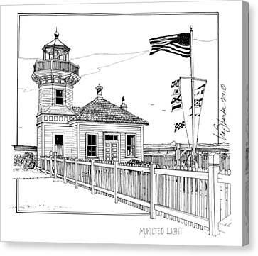 Mukilteo Light Canvas Print