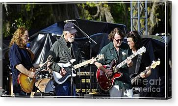 Mule And Widespread Panic - Wanee 2013 1 Canvas Print by Angela Murray