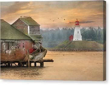 Mulholland Point Lighthouse Canvas Print by Lori Deiter