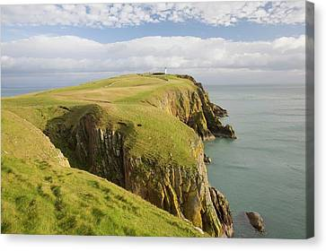 Rhin Canvas Print - Mull Of Galloway Scotland by Ashley Cooper