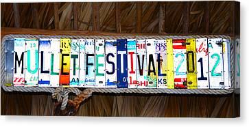 Mullet Fest 2012 Canvas Print by David Lee Thompson