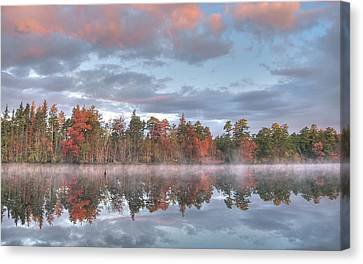 Mullica River Sunrise Canvas Print