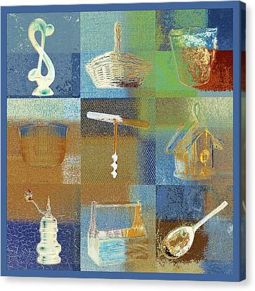 Multi Home Decor - Spmtc01fr03 Canvas Print by Variance Collections