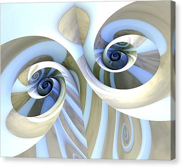 Multi-swirl Canvas Print by Kevin Trow