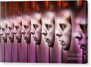 Multiple Personalities Canvas Print by Bill Longcore