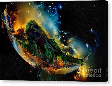 Multiverse Mystery Canvas Print