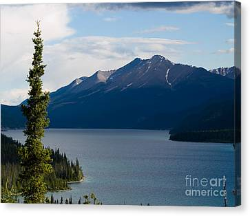 Muncho Lake Canvas Print
