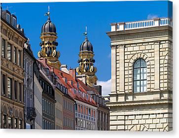 Munich Canvas Print by Juergen Klust