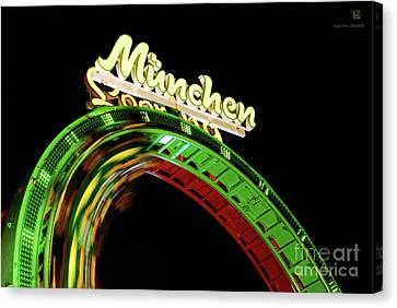 Munich Looping Canvas Print by Hannes Cmarits