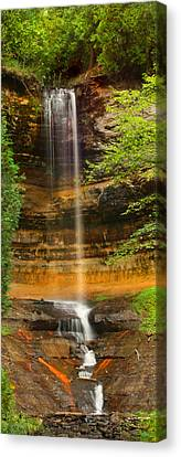 Munising Falls Canvas Print by Brook Burling