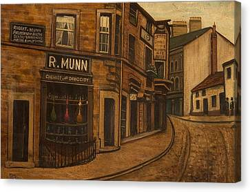 Munns Corner, 1890 Canvas Print by O'Shea