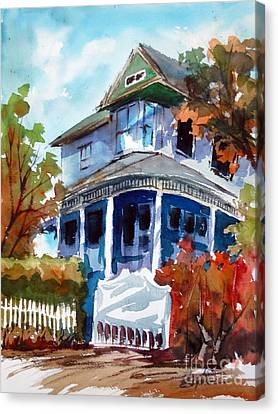 Munzesheimer Manor B B Mineola Tx Canvas Print by Ron Stephens