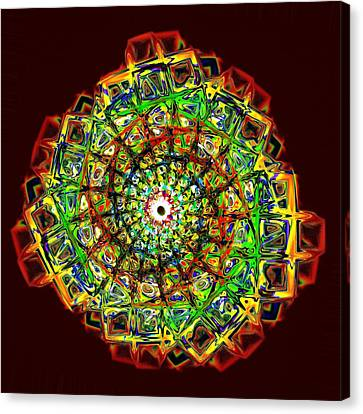 Murano Glass - Red Canvas Print