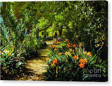 Muratie Gardens Canvas Print by Rick Bragan