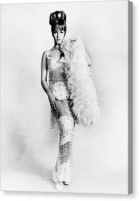 1960s Hairstyles Canvas Print - Murderers Row, Ann-margret, In A Gown by Everett