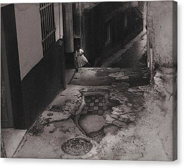 Muros Girl 1983 Canvas Print