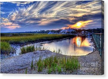 Murrells Inlet Sunset 4 Canvas Print