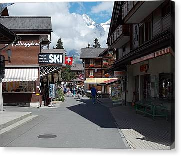 Murren Switzerland Canvas Print