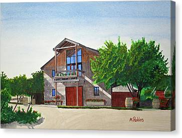 Murrietas Well Winery Canvas Print by Mike Robles