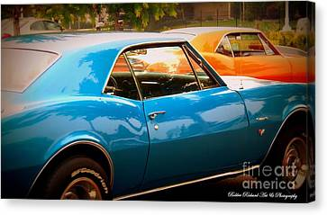 Muscle Canvas Print by Bobbee Rickard