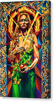 Muse  Autumn Canvas Print by Greg Skrtic